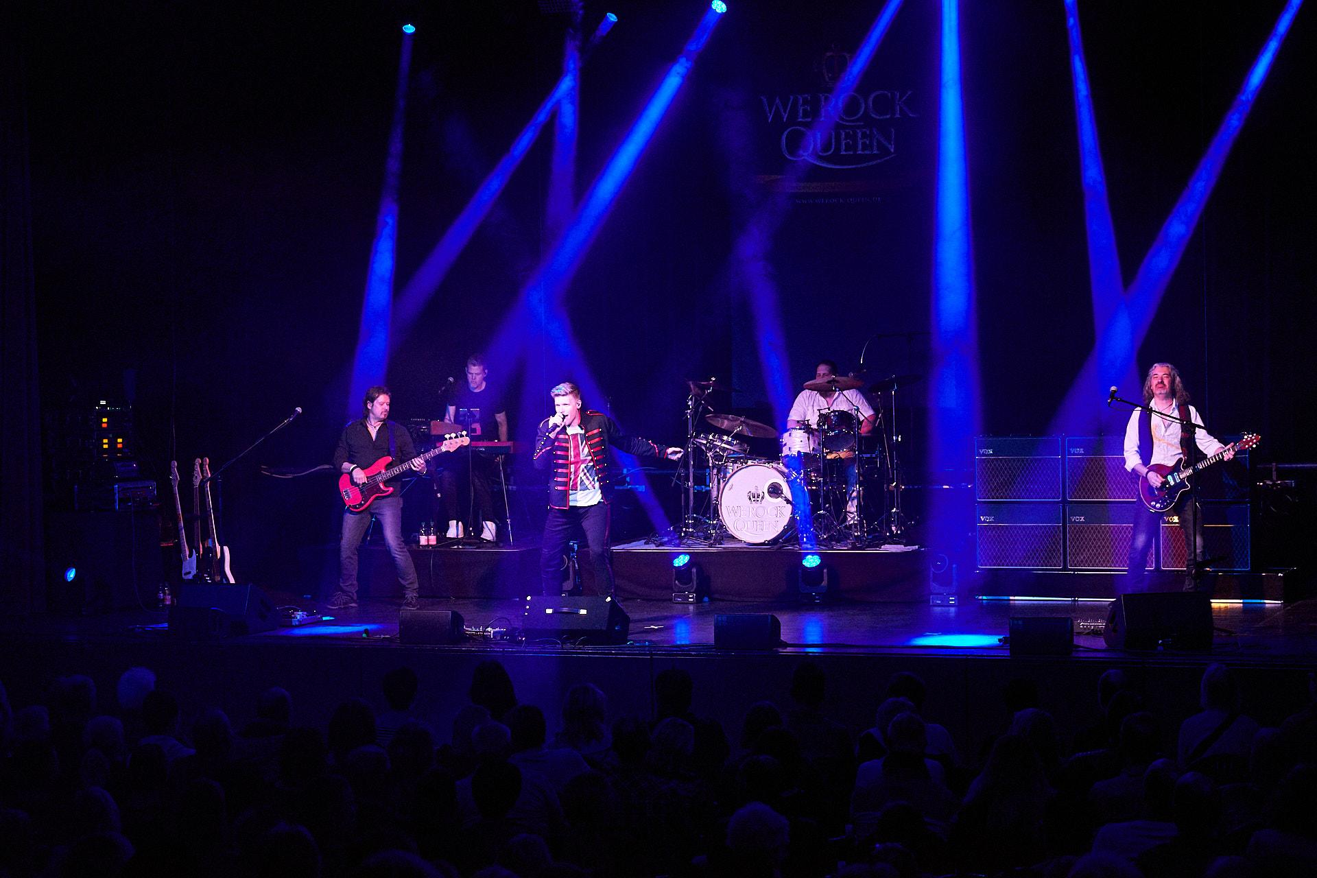 WE ROCK Queen spielte am Freitag, 8. März 2019 in der Stadthalle Verden