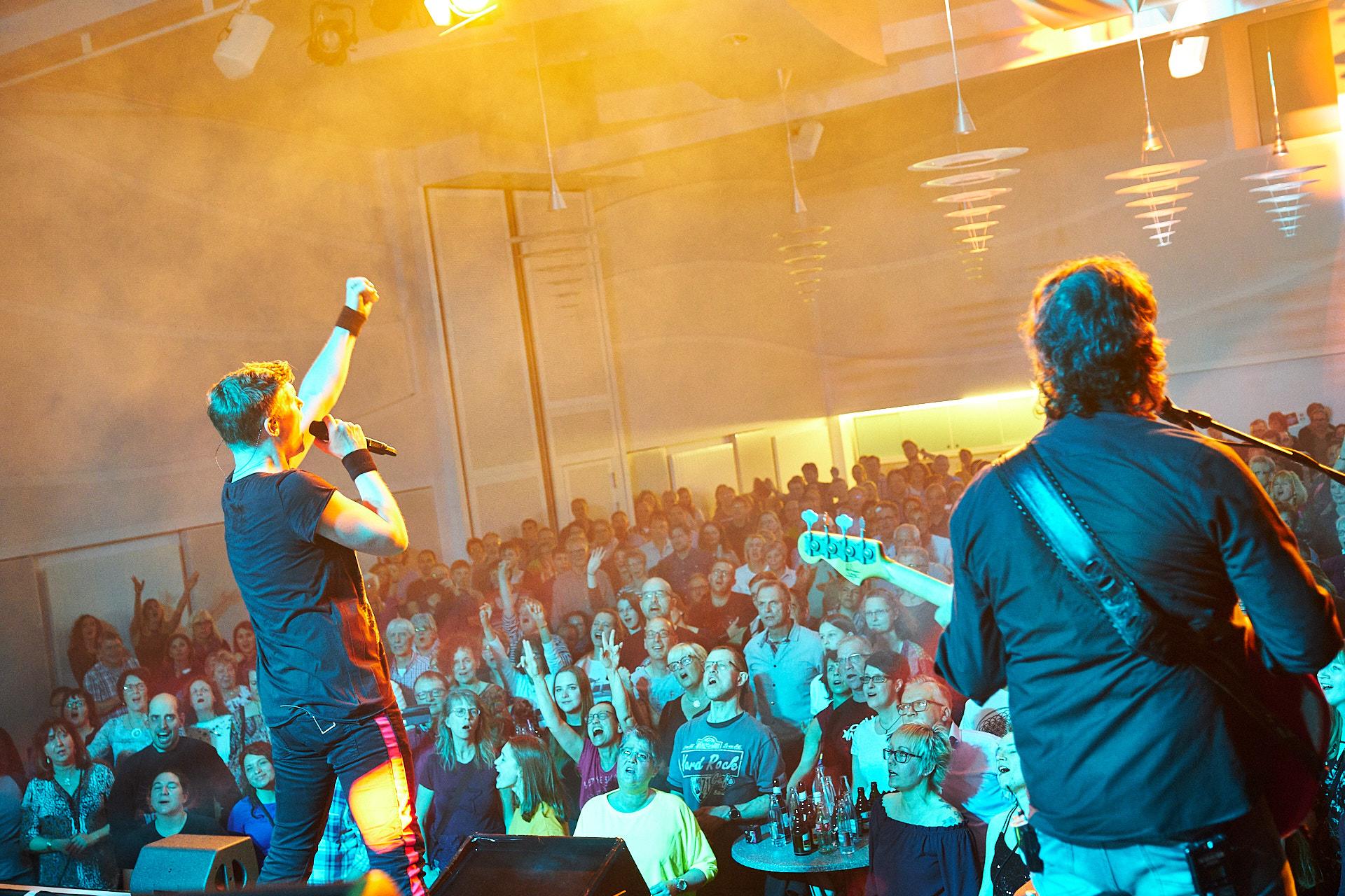 Am Samstag, den 30. März 2019 rockte WE ROCK QUEEN die Stadthalle in Boppard.