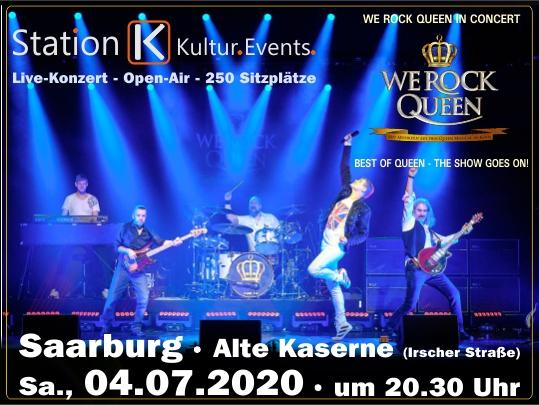 WE ROCK QUEEN – Veranstaltungshinweise Saarburg